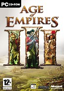 The strategy game Age of Empires on pc.