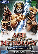 The strategy game Age of Mythology on pc.