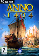 The strategy, construction and management game Anno 1404 on pc.