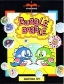 The video game Bubble Bobble on Amstrad.