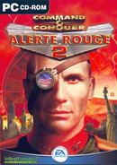 The game Command and Conquer 2 : Red Alert on pc.