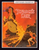 The platform game Dragon's Lair on Amstrad CPC.