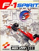 The game F1 Spirit : Way To Formula-1 on MSX.