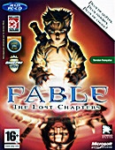The video game Fable : The Lost Chapters on pc.