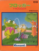 Frogger is an MSX game.