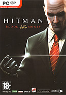 The video game Hitman Blood Money on pc.