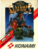 The game Maze of Galious on MSX2.