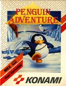The game Penguin Adventure on MSX2.