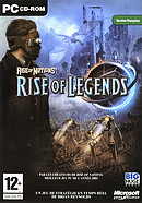 The video game Rise of Nation : Rise of Legend on pc.
