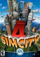 The game Sim City 4 on pc.