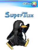 The game Super Tux on Linux.