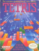 The game Tetris on pc.